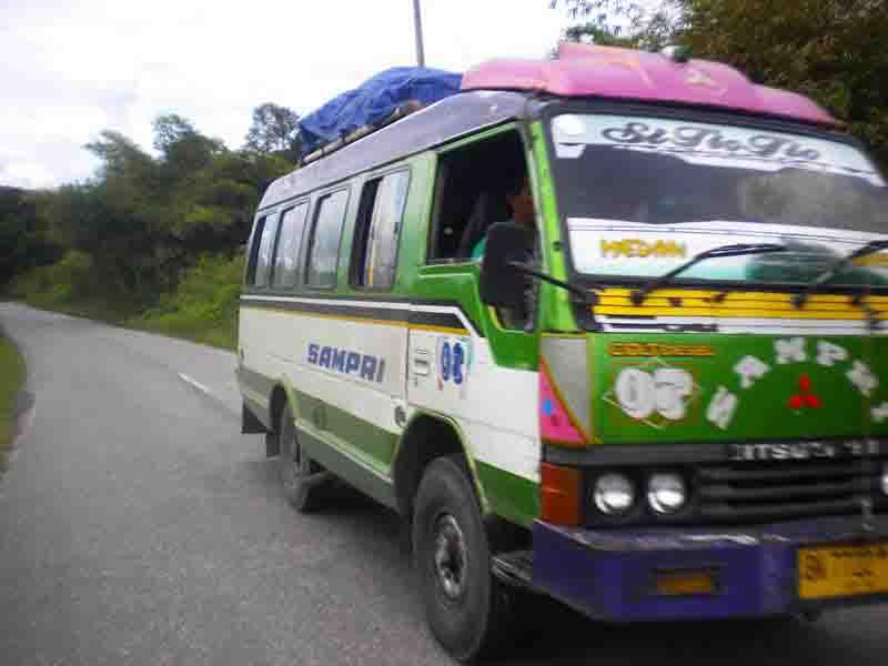 Transport di Samosir