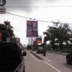 Baliho Promosi Samosir di Jl. Thamrin, Medan
