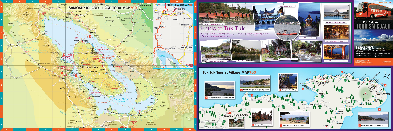 Peta Pariwisata Samosir