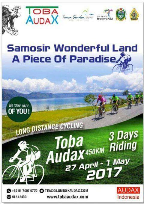 Toba Audax 2017 – Catat! Ini Event Gowes Taraf Internasional dari Komunitas Sepeda Asal Perancis