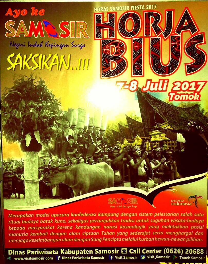 """Pemkab Samosir tetap pertahankan budaya """"Horja Bius"""""""