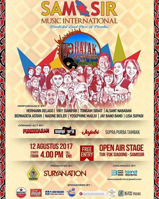 Musisi Eropa akan hebohkan Samosir Music International 2017