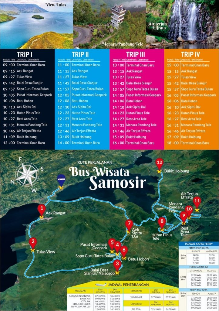 Bus Wisata Samosir